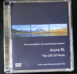 Acura-RL-Bose-Surround-Sound-System-DVD-Audio-Demonstration-Disc