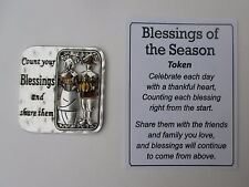 t Count your blessing share them BLESSINGS OF THE SEASON Pocket token charm ganz