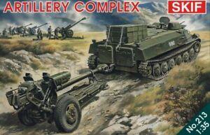 Skif-213-1-35-Soviet-Artillery-Complex-MT-LB-Tractor-amp-122-mm-Howitzer-D-30