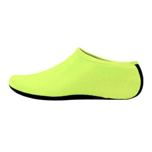 2PCS Aqua Shoes Mens Womens Kids Water Socks Slip On Beach Swim Surf Sea Wet UK