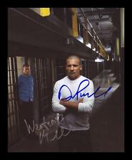 PRISON BREAK - MILLER & PURCELL AUTOGRAPHED SIGNED & FRAMED PP POSTER PHOTO