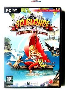 So-Blonde-Perdus-en-El-Caraibes-PC-Scelle-Videojuego-Scelle-Neuf-Retro-Spa