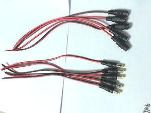 5Pair-5pcs-2-1mm-5-5mm-Male-5pcs-Female-DC-Power-Socket-Jack-Connectors