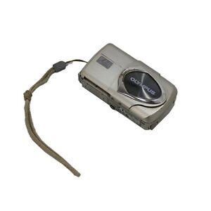 Olympus-MJU-410-digital-camera-4-0-mega-pixel-silver-tested-amp-warranty