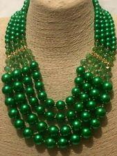 Gorgeous Bib Beaded Statement Zora Crystal Bling  Necklace