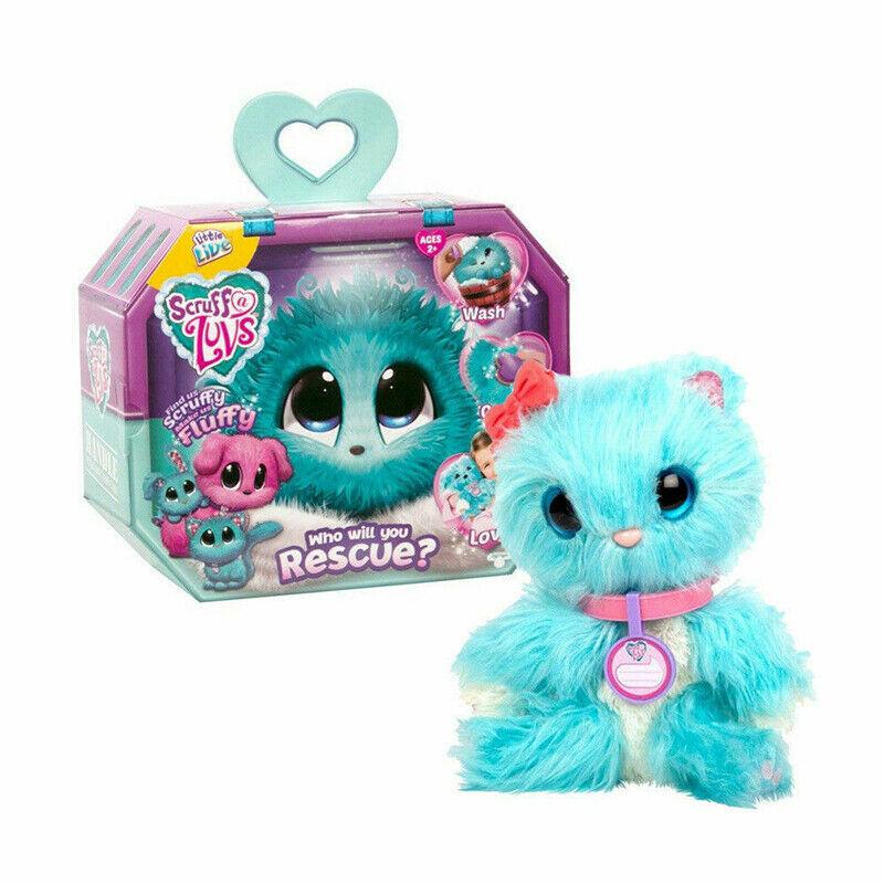 UK Hot Scruff-A-Luvs Rescue Plush Little Live Doll Toys Pets Kids Birthday Gifts 10