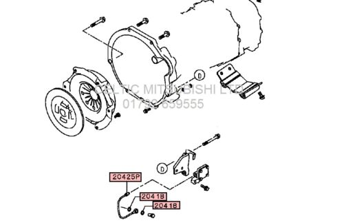 2006-2015 MITSUBISHI L200 CLUTCH SLAVE CYLINDER GEARBOX METAL PIPE//HOSE KIT