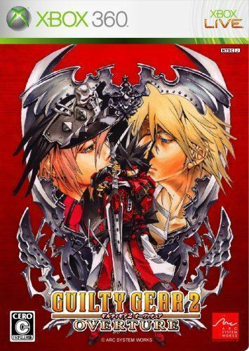 Used Xbox 360 Guilty Gear 2 Overture MICROSOFT JAPAN JAPANESE JAPONAIS IMPORT