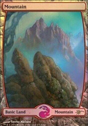 Mountain - Full Art - Foil DCI Judge Promo, NM-Mint, English, MTG Promos MTG