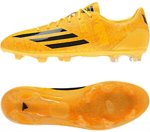 Adidas-F30-MESSI-Mens-Soccer-Cleats-Shoes-Solar-Gold-w-Black-M17626-Sz-9