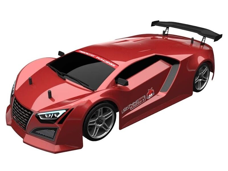 rossoCAT Lightning EPX  Drift 1 10 Scale Brushed Electric On strada 4WD RC auto - rosso  online economico