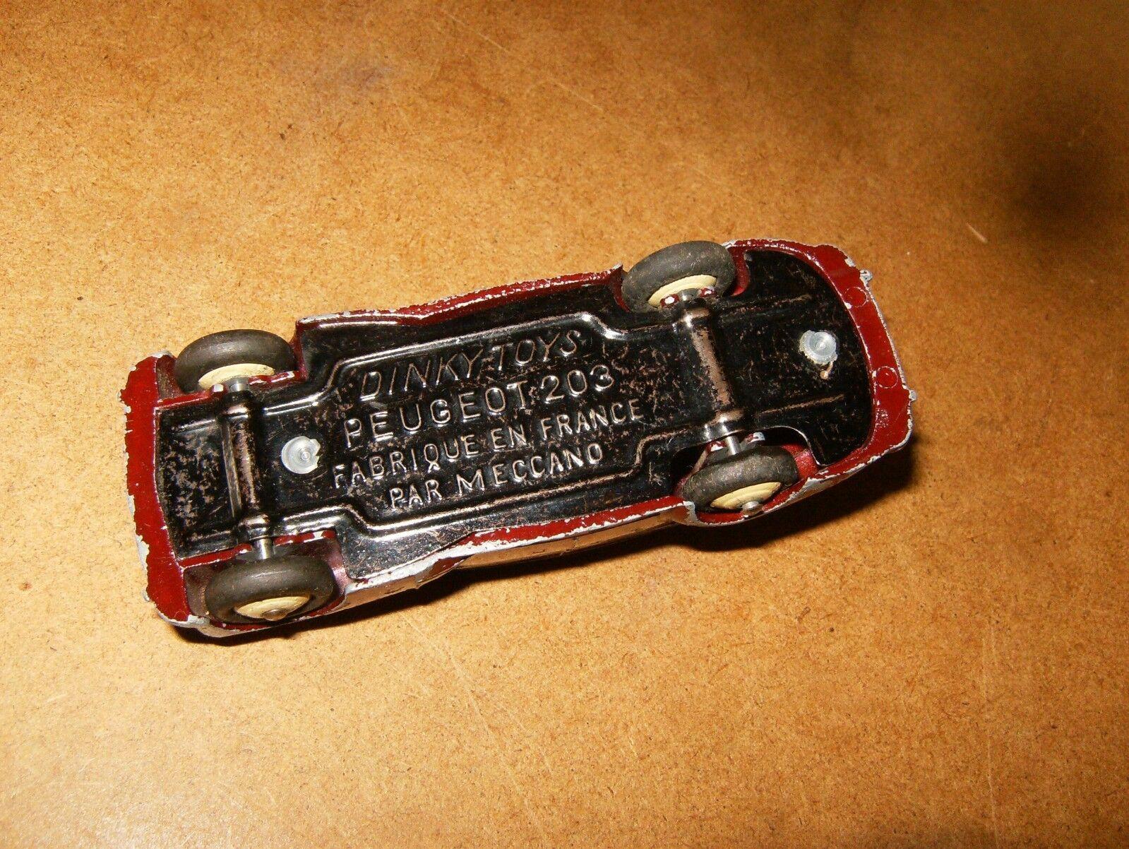 Ancienne   vintage DINKY TOYS France 1 43 43 43 (N° 24 R   24R) - PEUGEOT 203 - 50's 71a555