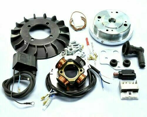 Ignition Analogue Polini Cone Ø19 Flywheel 1,2 KG for Vespa ET3 125 Spring