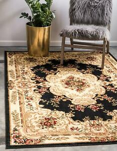 Vintage-Floral-Area-Rug-Runner-Floor-Carpet-Accent-Home-Living-Room-Decor-5-039-x8-039