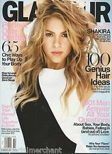 Glamour magazine Shakira Perfect date outfits 100 best new hair ideas Money tips