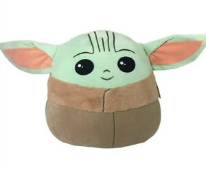 "Squishmallows 20"" Baby Yoda Star Wars Disney The Child Mandalorian Plush Squishy"