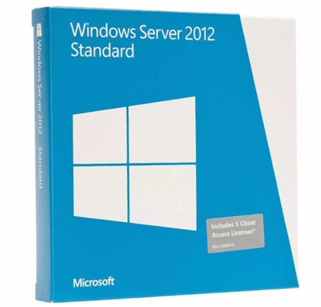 Microsoft Windows Server 2012 Standar Original  key- Clave
