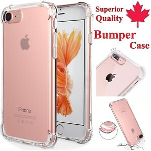 For-iPhone-11-Pro-XR-XS-X-6S-7-8-Plus-Clear-Bumper-Case-Soft-Superior-TPU-Cover