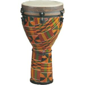 Remo African Collection Djembe 14x25 Zoll Kinte Kloth   Neu