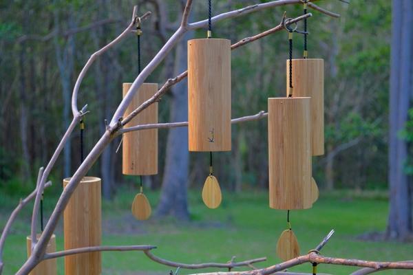 Koshi campanas de viento-Aqua, Terra, Ignis, Aria