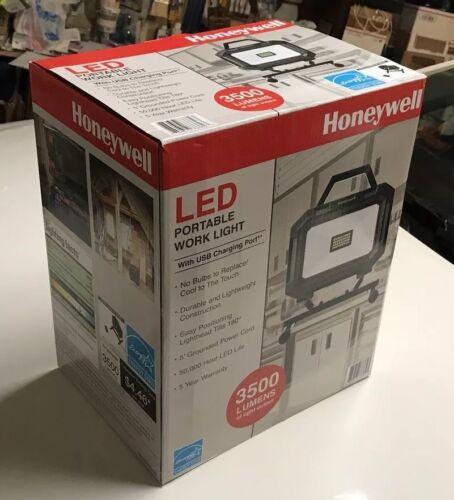 Honeywell 3500 Lumens LED Portable Work Light w// USB Charging Port