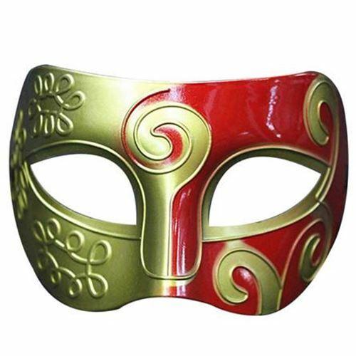 mask Retro Roman Gladiator Swordsman Halloween Party Masks Mardi Gras Masquerade