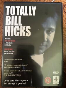 TOTALLY-BILL-HICKS-Classic-Stand-Up-Comedy-UK-DVD