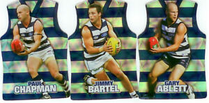 2009-Select-AFL-Champions-Holofoil-Jersey-Die-Cut-Card-Team-Set-12-Geelong