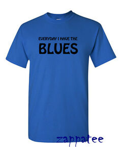 EVERYDAY-I-HAVE-THE-BLUES-T-Shirt-Music-Tee-Freddie-BB-King-Albert-Collins