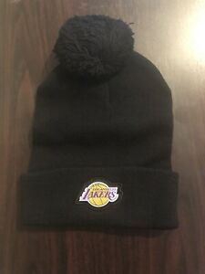 NWT-Los-Angeles-Lakers-Coors-Light-NBA-Beanie-Knit-Hat-Nike-Mens