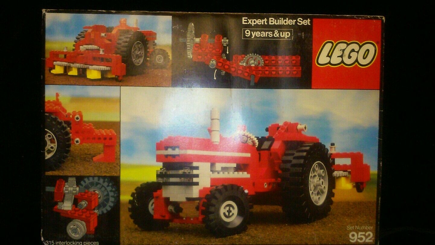 NIB Vintage 1977 Lego Expert Builder Set  952 Tractor RARE FIND NEVER BEEN OPEN