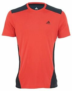 superior quality differently super popular Details about Adidas Climacool Style F86280 Men's T-shirt Red Black Size  Large 1204