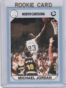 Details About Michael Jordan Rookie Card North Carolina Ncaa Unc Rc College Basketball