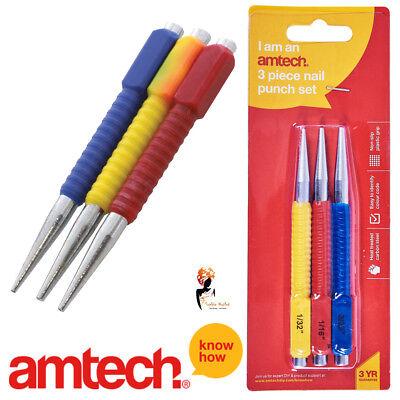 Set of 3 Pieces Blue Spot Tools 22441 3 PCE Centre Punch Set