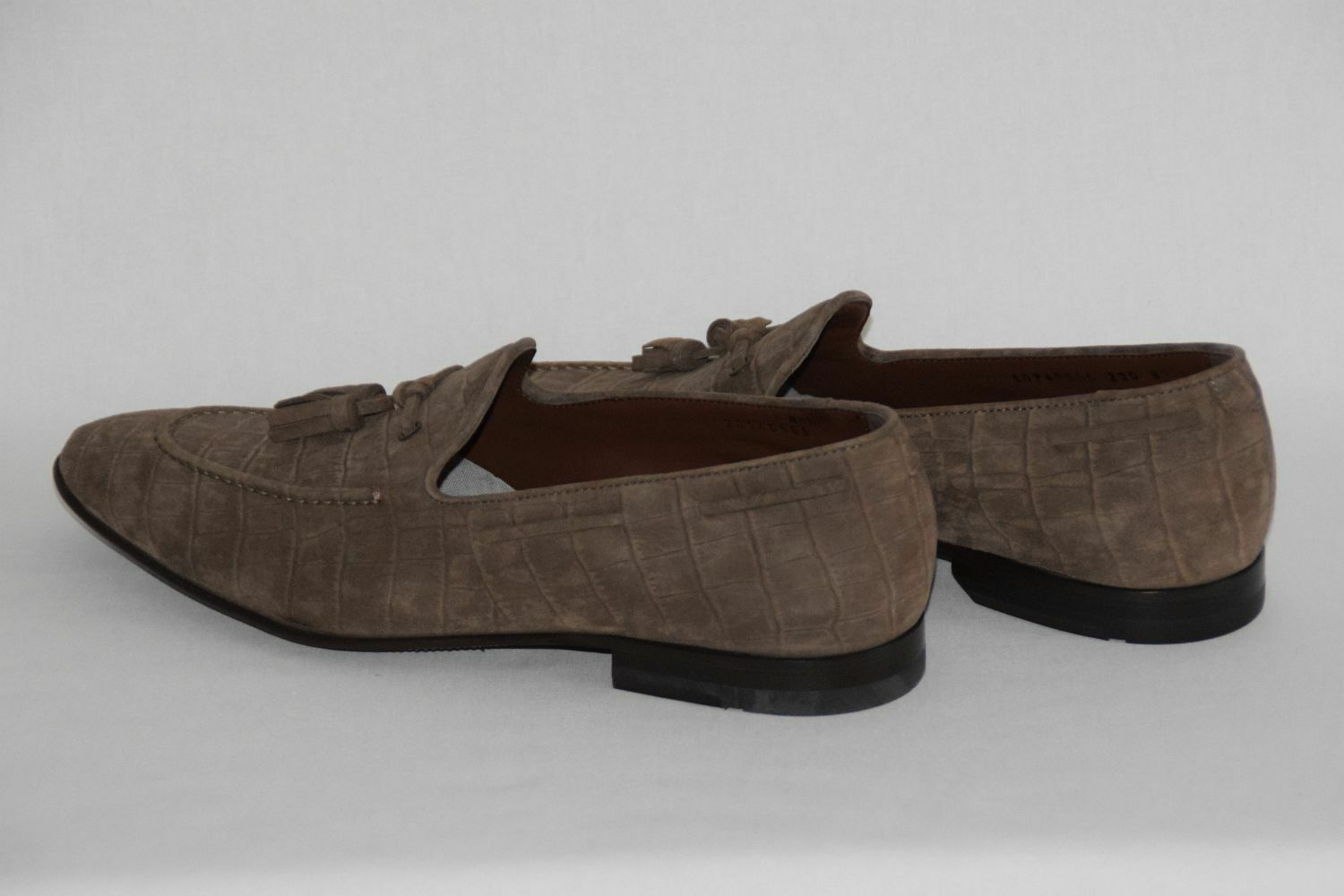 Scarpe casual da uomo  Hugo BOSS pennyloafer, Tg. 42, UVP: , light/PASTEL Brown