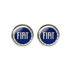 Adesivo Fiat 3D Ufficiale Logo Blu 21 mm, 2 pezzi