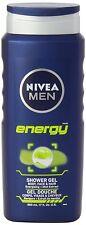 Nivea para hombres de Energía Gel de Ducha, 500ml