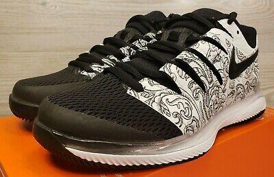 Women's Nike Air Zoom Vapor X HC White Black Tennis Shoes AA8027 103 Pick Size   eBay