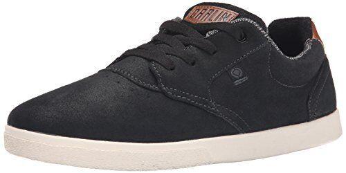 C1RCA Homme JC01 Skate Chaussures, Noir/Dark Shadow, 10 M