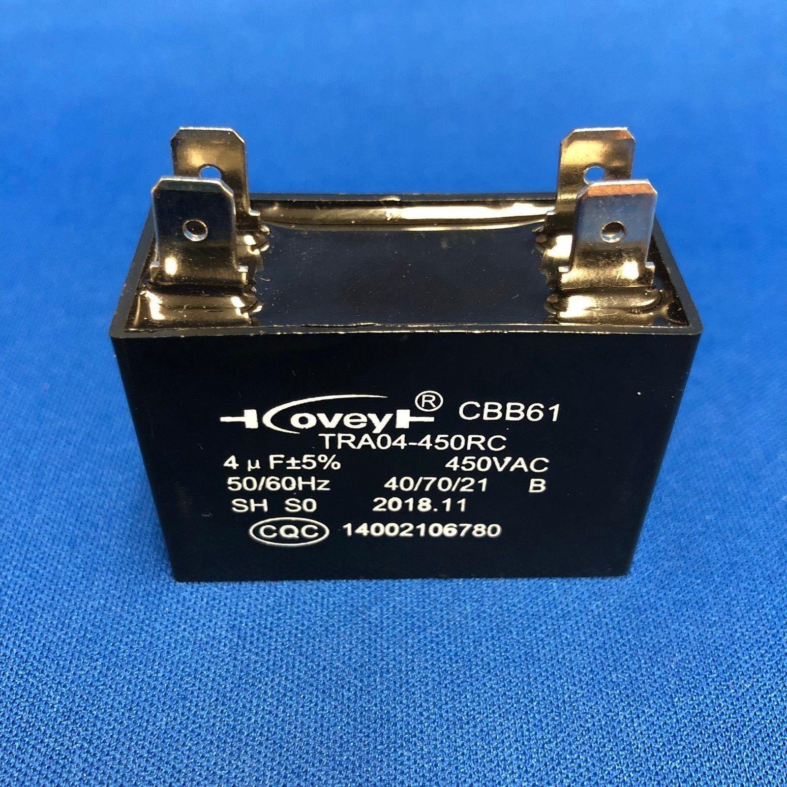 1uF Rtengtunn CBB61 450V 1//2//3//4//5//6//10 uF Deckenl/üftermotor l/äuft Startkondensator