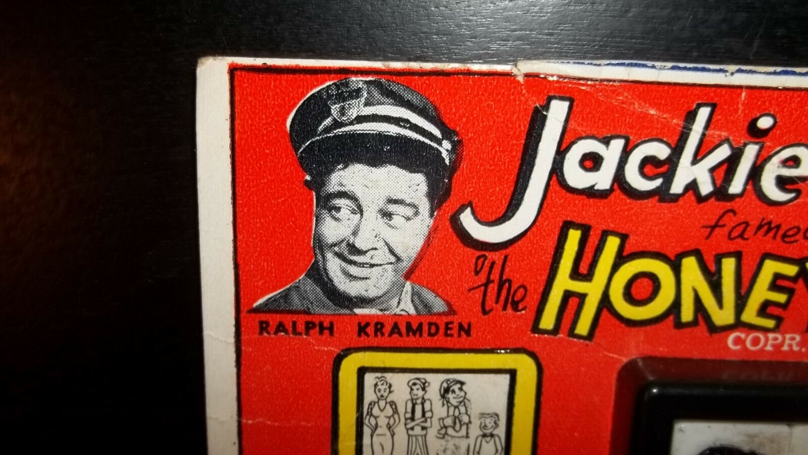Vintage 1950's THE HONEYMOONERS Jackie Gleason ROALEX Slide Puzzle Toy Toy Toy Norton 0a0