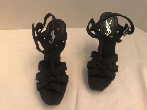 YSL Tribute platform sandal