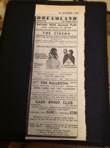 H2-1-Ephemera-1969-Advert-Margate-Dreamland-Jimmy-James-The-Vagabonds-Ritual