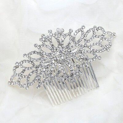 Bridal Wedding Hairpiece for Bride,Bridesmaid- Stunning Vintage Hair comb
