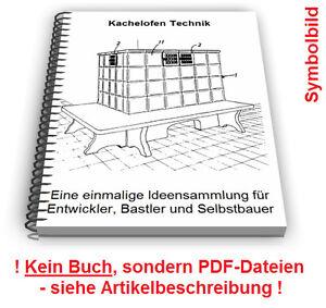 Details zu Kachelofen selbst bauen - Kachel Ofen Technik Patente  Patentschriften