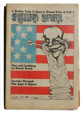ROLLING STONE Magazin August 17 1972 Steine tour trouble Eagles Ralph Steadman