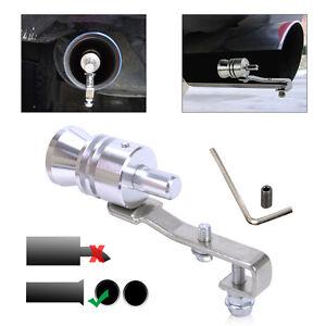 Car Turbo Sound Whistle Muffler Exhaust Pipe Auto Blow-off Valve Simulator 12cm
