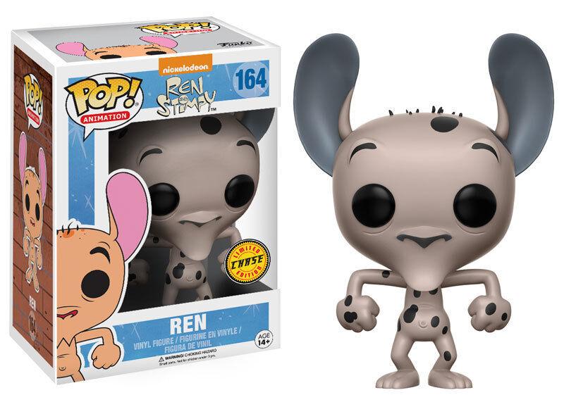 Funko Pop animación Ren y Stimpy  164 Ren  Chase Vinilo Figura  Fast Post
