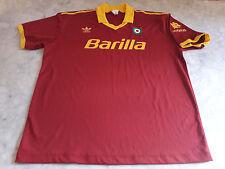 Maglia calcio Adidas AS Roma Barilla vintage Italy