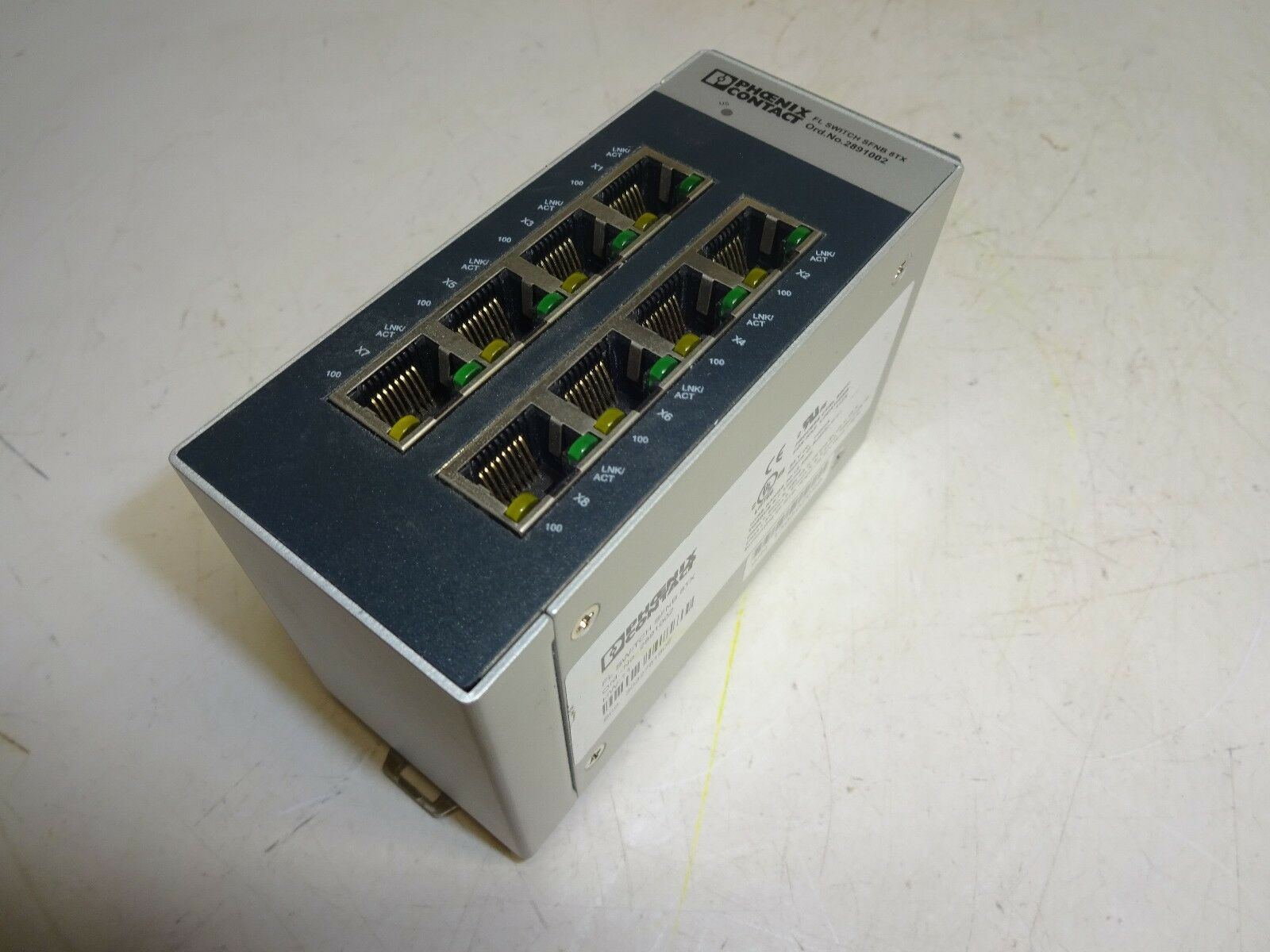NEW OLD STOCK PHOENIX CONTACT FLOAT SWITCH SFNB-8TX